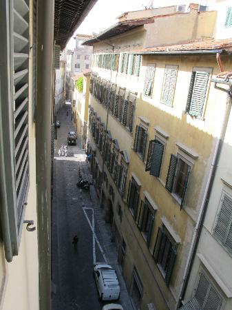 Borghese Palace Art Hotel: View from our room