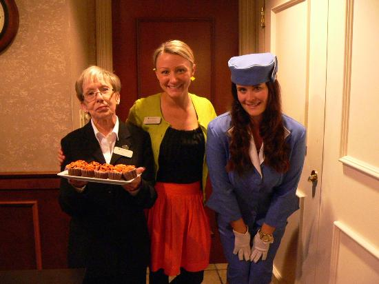 Hotel Bellwether: Staff dressing up for Halloween