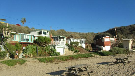 Crystal Cove State Park The Red Cottages