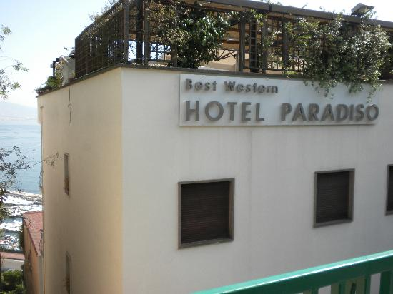 BEST WESTERN Hotel Paradiso: Hotel Front