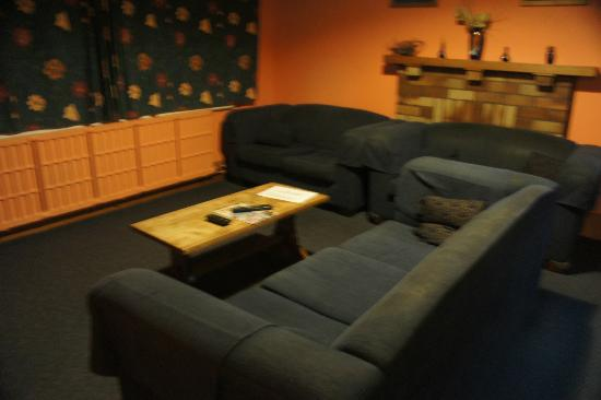 Rotorua Central Backpackers: tv room