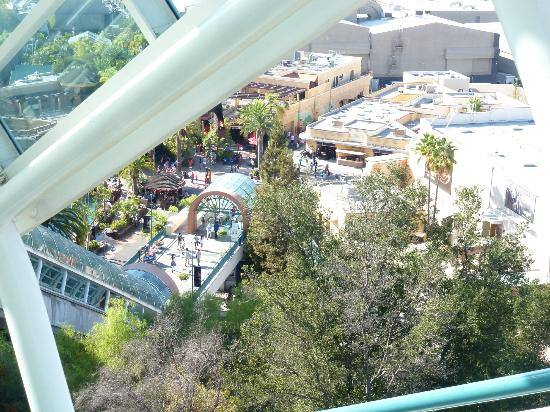 Universal Studios Hollywood: Another beautiful view on a great day across Universal Studios