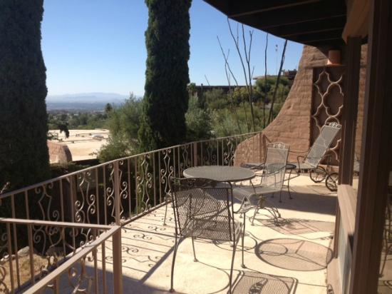 Mission Hills Casitas: View from one of the casitas