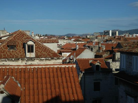 Hotel Slavija: Rooftop view from our patio