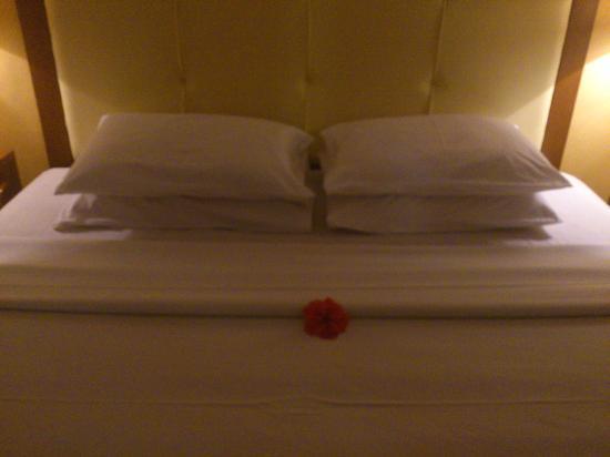 Puri Dewa Bharata Hotel & Villas : Our bedroom