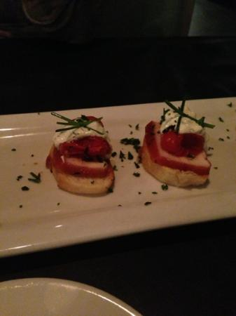 Lure Fish House: crostini