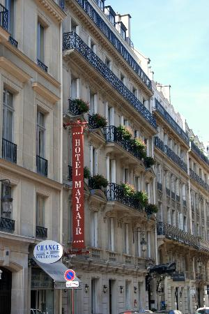 Hotel Mayfair Paris: Hotel Mayfair exterior