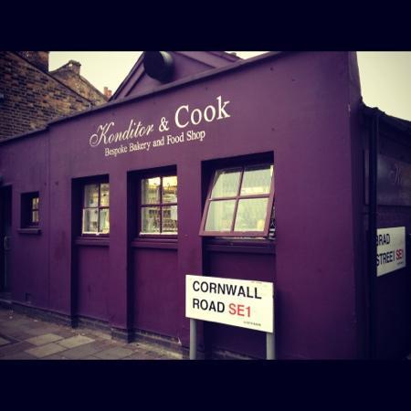 Konditor & Cook - Waterloo: Outside Konditor and Cook Waterloo