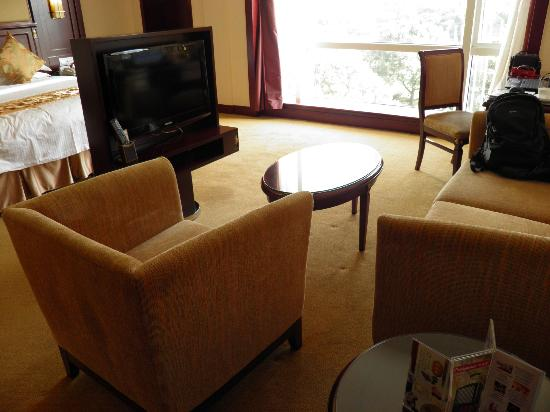 Oriental Riverside Hotel: living area