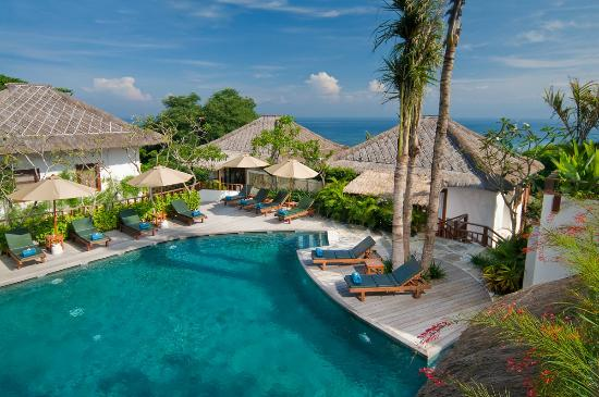 Batu Karang Lembongan Resort & Day Spa : Top pool