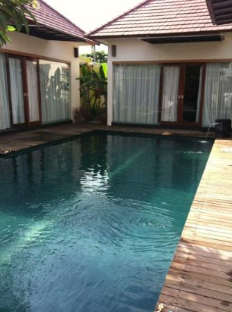 Bali Swiss Villa: the pool area