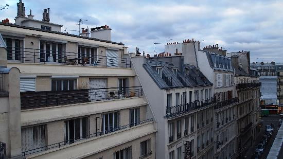 Hotel Magda Champs Elysees: 窓の外の景色