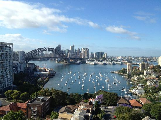 North Sydney Harbourview Hotel: View from Room 1206