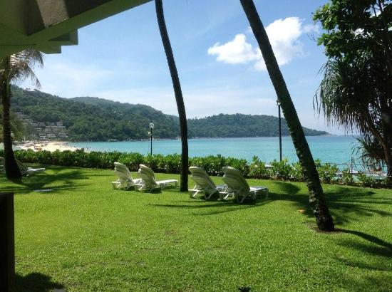 Katathani Phuket Beach Resort: View from Room 2114