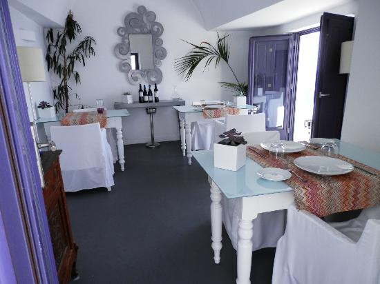 Chromata Hotel: very cute,cozy restaturant