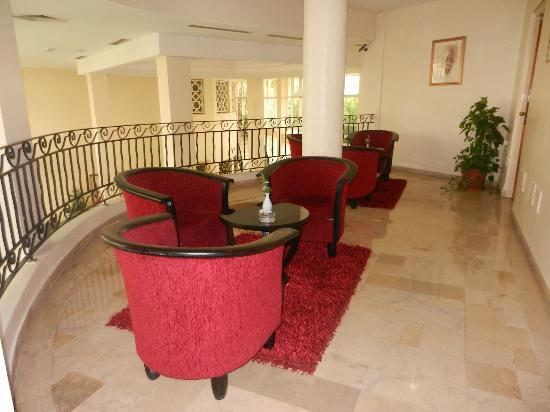 Hotel Du Parc: Petit salon au 1er étage