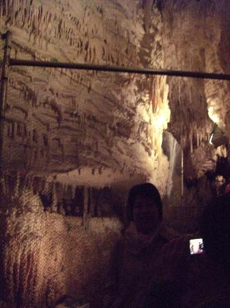 Aranui Cave: Inside cave