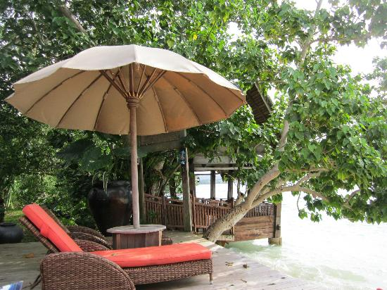 Vanuatu Seaplanes : Where we had lunch
