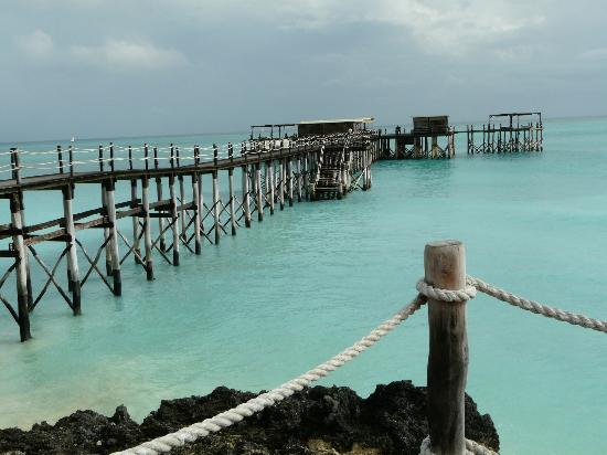 Essque Zalu Zanzibar: View of the pier