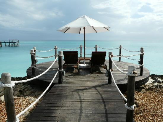 Essque Zalu Zanzibar: View of one the seating area's overlooking the Ocean