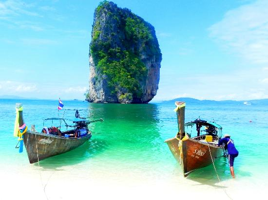 Thalang, Thái Lan: Railay Beach Krabi