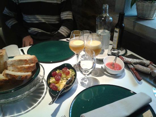 La Garriga de Castelladral: El desayuno es magnífico