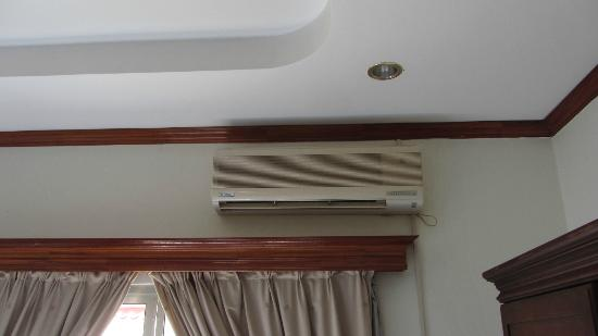 Aroon Residence Vientiane: air con