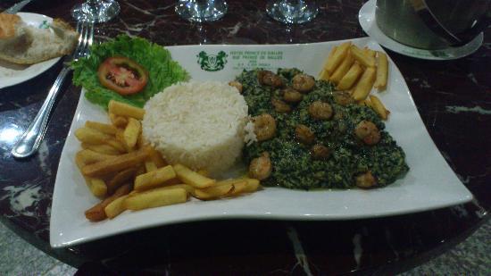 Hôtel Prince de Galles : Dinner