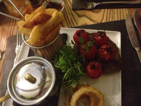 The Pheasantry Brewery: The Rib Eye steak