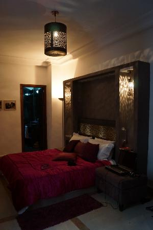Riad Chayma: our room