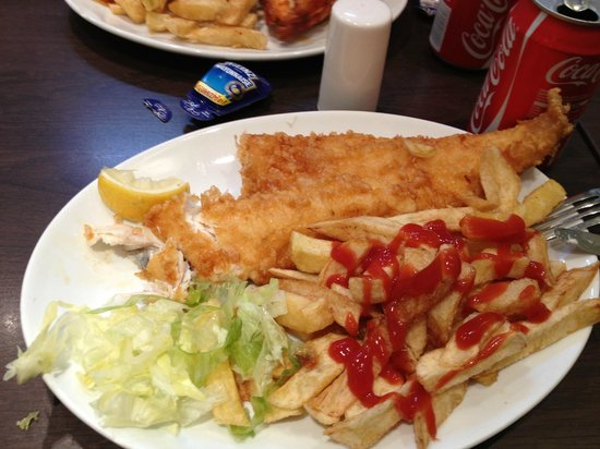 Micky's Fish and Chips: Fish & Chips