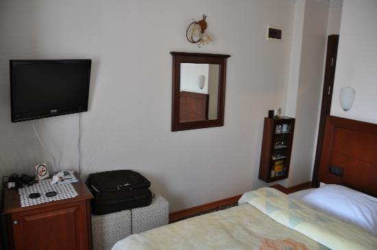 Ada Hotel Istanbul: Vue sur la chambre