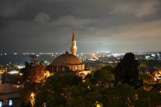 Ada Hotel Istanbul: vue de la terrasse de l'hôtel