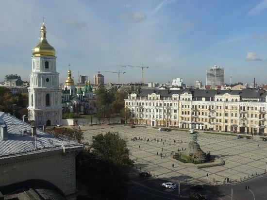 Hyatt Regency Kiev: Viev from the executive lounge