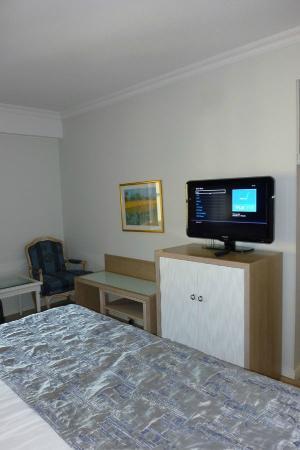 Hotel Rivoli Jardin : la tv schermo piatto