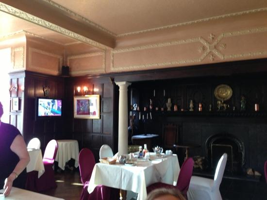 Manor House Hotel & Restaurant: the dining room