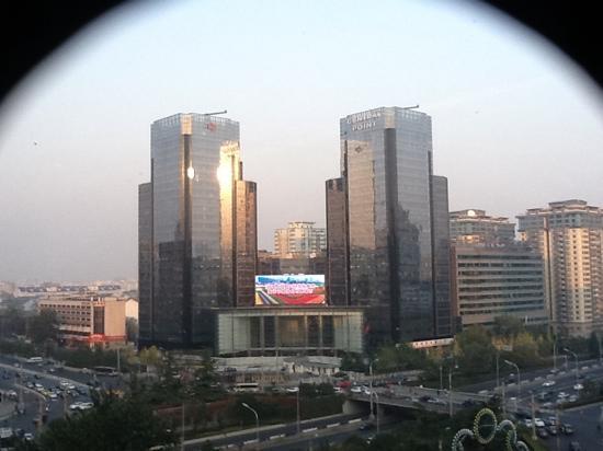 Swissotel Beijing Hong Kong Macau Center: vue de ma chambre