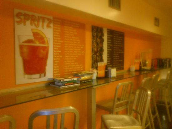 Come Sinatra Cafe: Qui ci si può sedere