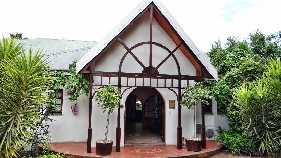 Hlangana Lodge: Eingangsbereich
