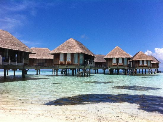 Club Med Kani: OVerwater bungalows, great if you can afford it