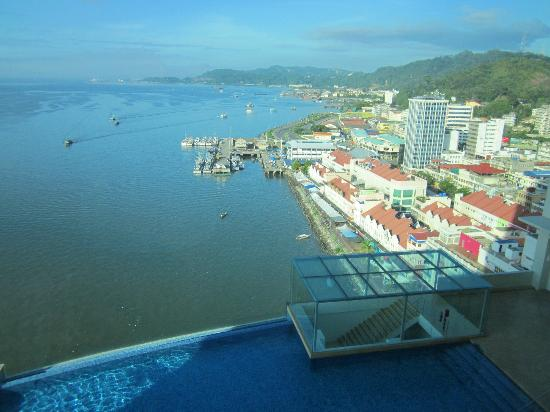 Four Points by Sheraton Sandakan: Sandakan from 14th floor