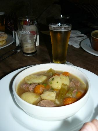 Olde Castle Bar: The Irish stew