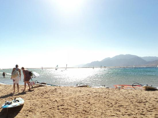 Dahab Resort: view from beach