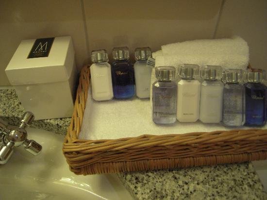 Hotel Continental Zurich - MGallery Collection: des produits de toilette de qualité
