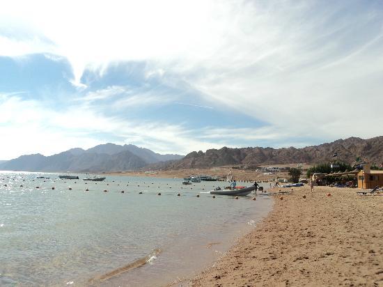 Dahab Resort: view from beach