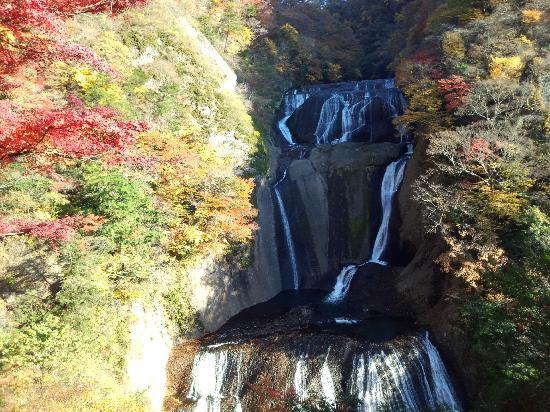 Fukuroda Falls : 秋の滝