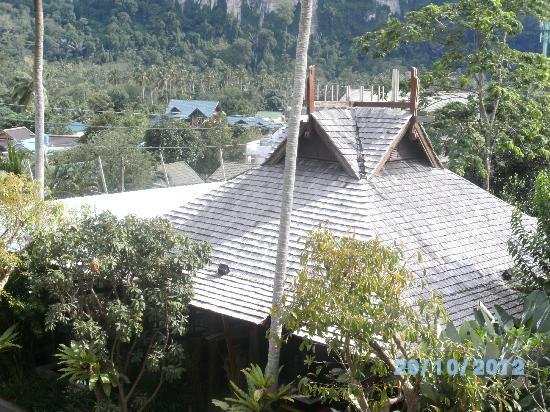 Phu Pi Maan Resort & Spa: Blick vom Zimmer