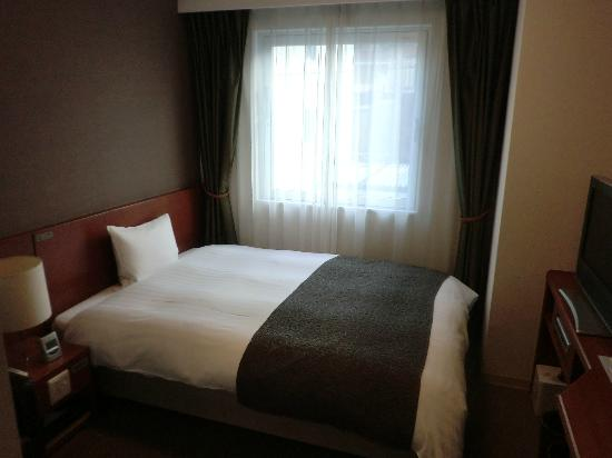 Hotel Dormy Inn Takamatsu: ダブルルーム