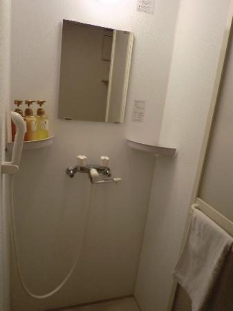 Hotel Dormy Inn Takamatsu: シャワールーム