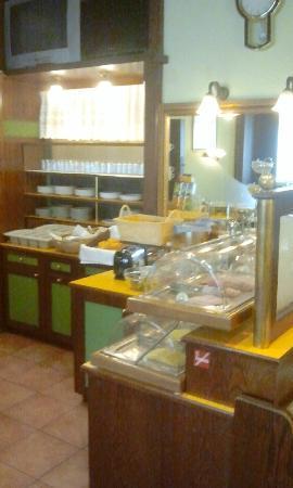 Hotel Hadrigan: große Auswahl an frischen Frühstückszutaten